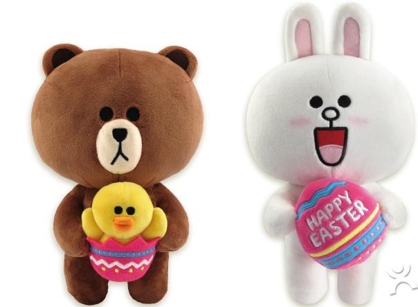 必胜客优惠券:任意消费加48元得正版复活节布朗熊或可妮兔