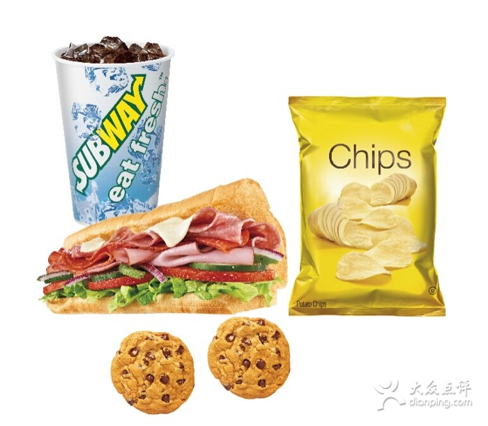 赛百味优惠券:任意一款三明治加9元可组成套餐